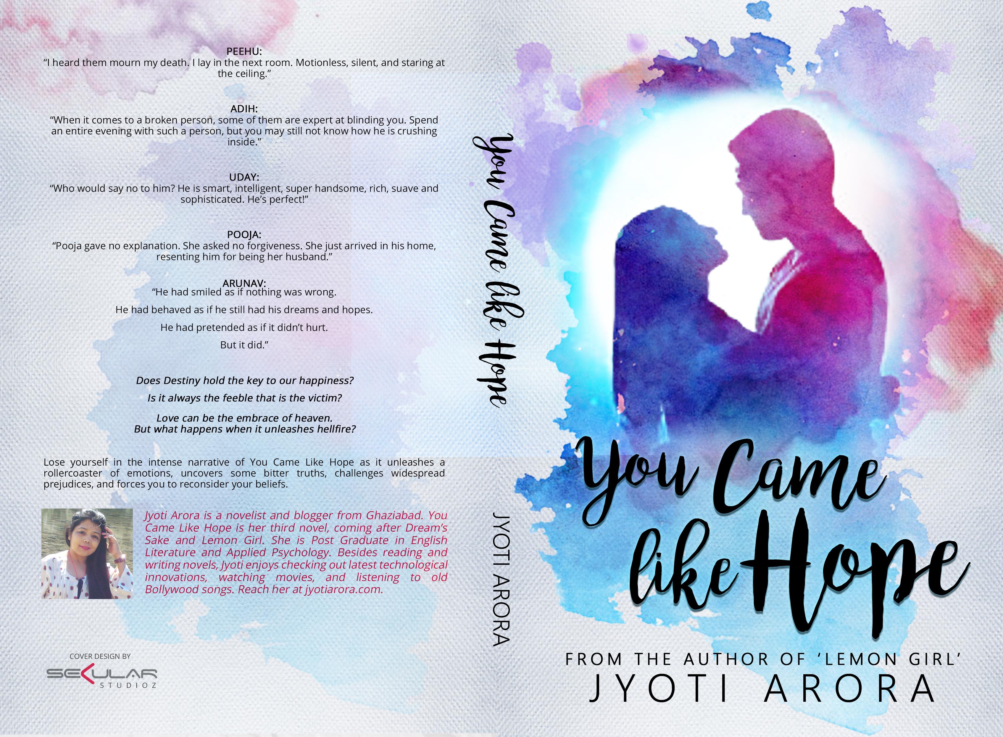 Title: You Came Like Hope