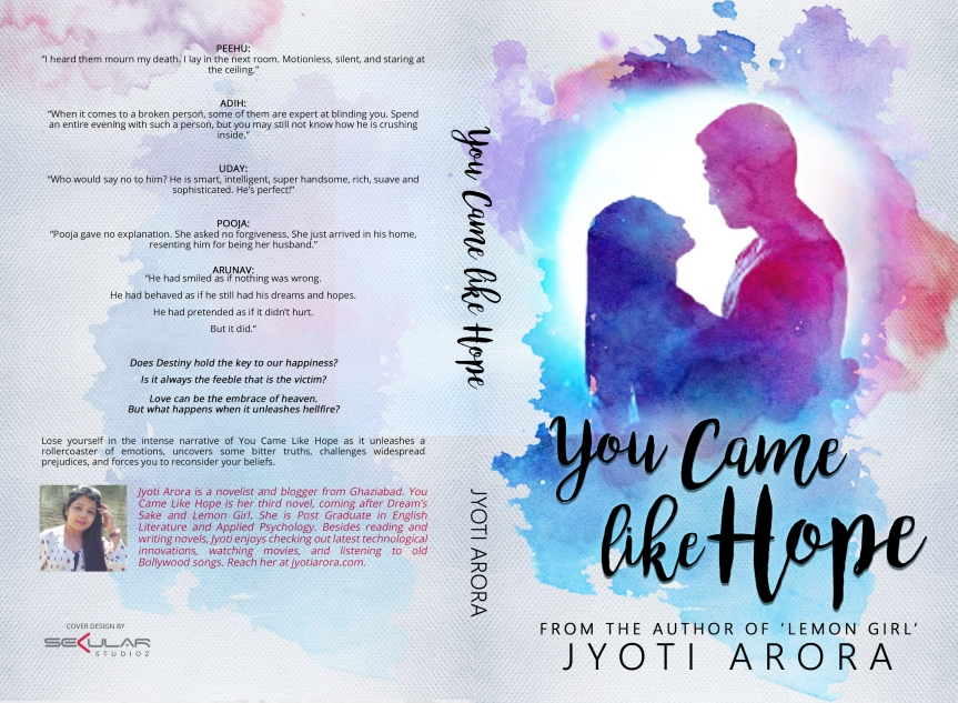 Cover Reveal- You Came Like Hope