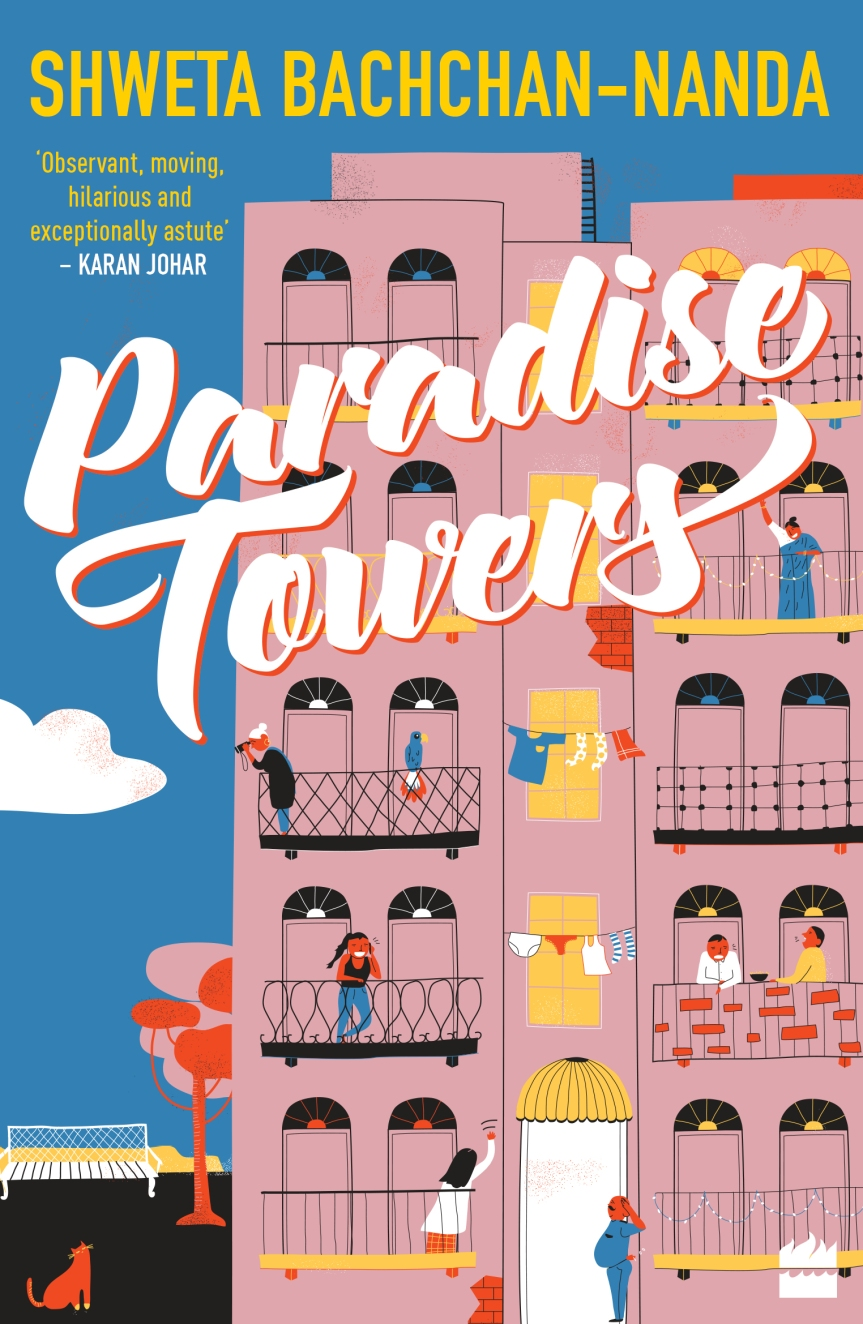 Cover Reveal- Paradise Towers by Shweta Bachchan – Nanda