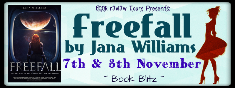 Book Tour-Freefall(The Amalie Noether #1) by Jana Williams