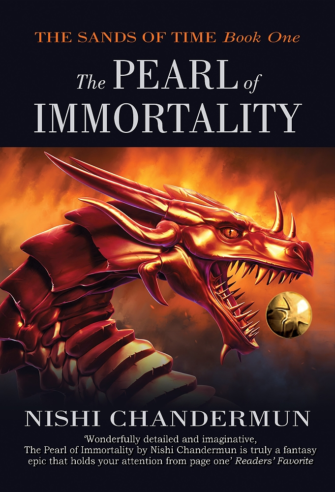 Cover Reveal- The Pearl Of Immortality by Nidhi Chandermum