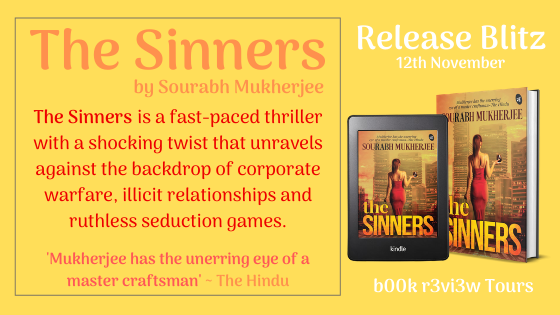Release Day Blitz-The Sinners by Sourabh Mukherjee