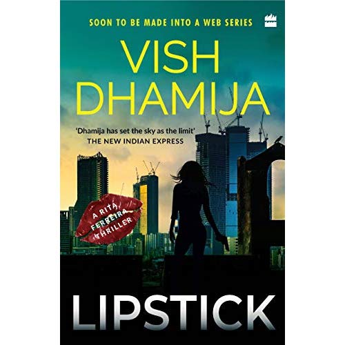 Book Review-Lipstick,a Rita Ferreira thriller
