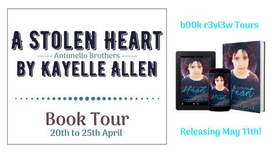 Blog Tour- A Stolen Heart by Kayelle Allen